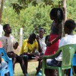 HIVOS project youth focus group discusion bongu konyango dispensary seme sub county kisumu county.