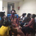 hivos project .SRHR focus group discusion muhoroni sub county .
